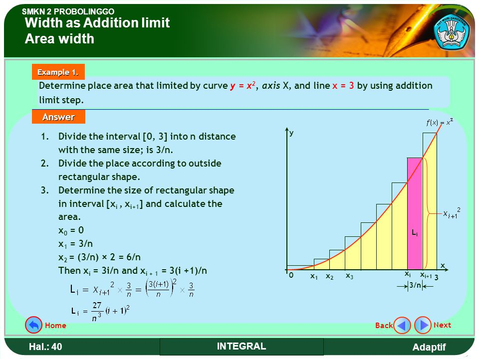 Width as Addition limit Area width
