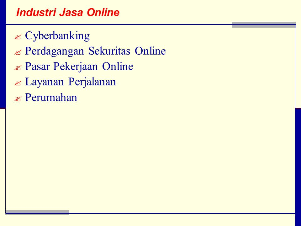 Perdagangan Sekuritas Online Pasar Pekerjaan Online Layanan Perjalanan