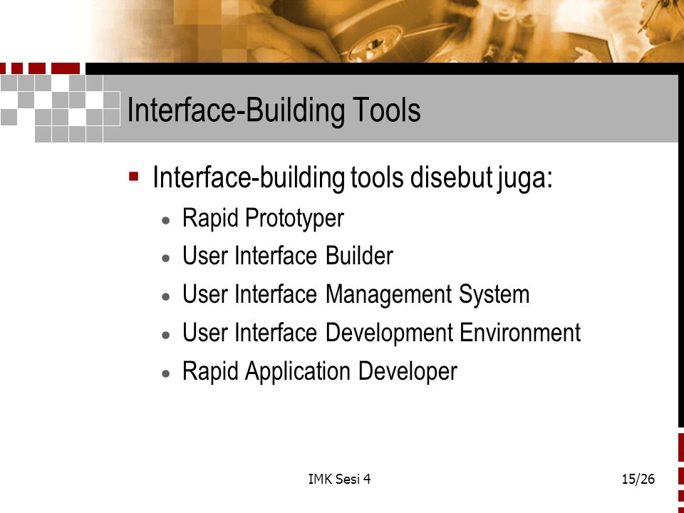 Interface-Building Tools