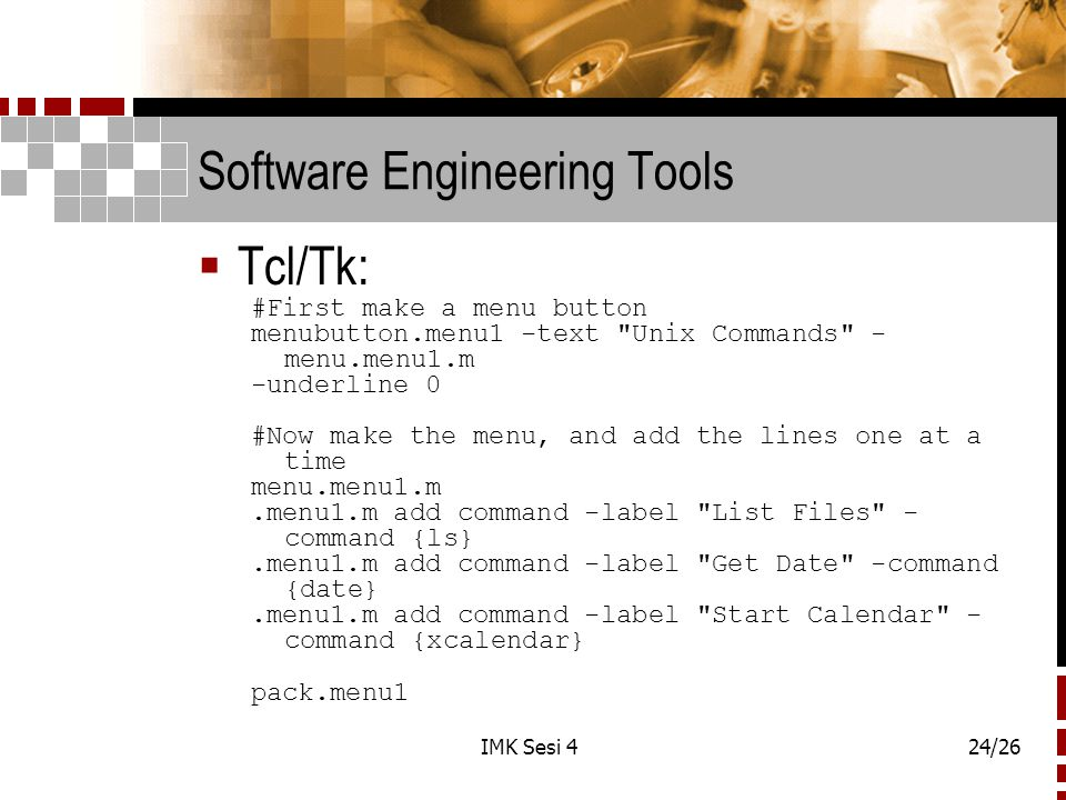 Software Engineering Tools