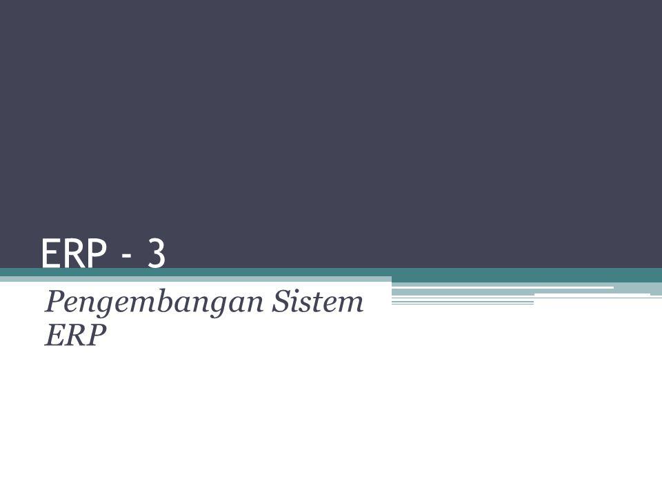 Pengembangan Sistem ERP