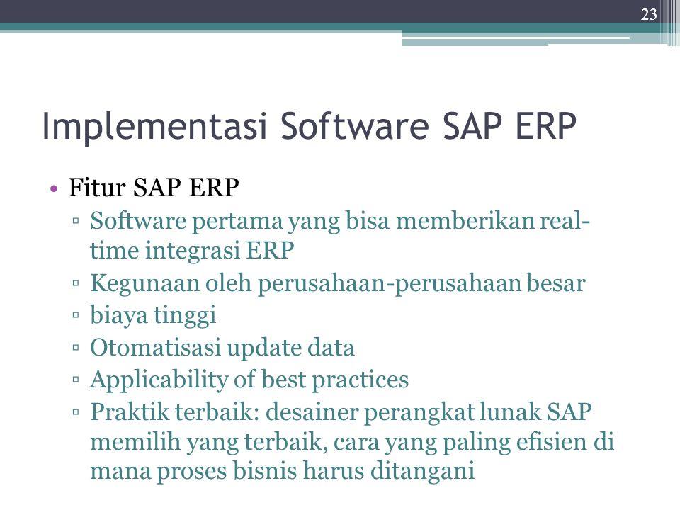 Implementasi Software SAP ERP