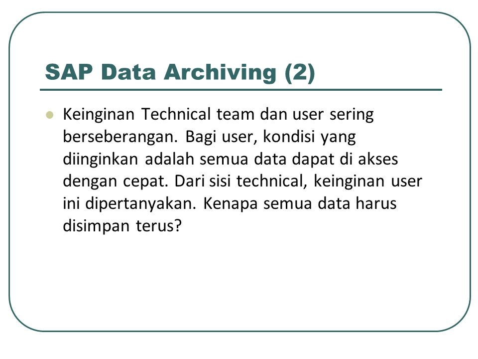 SAP Data Archiving (2)