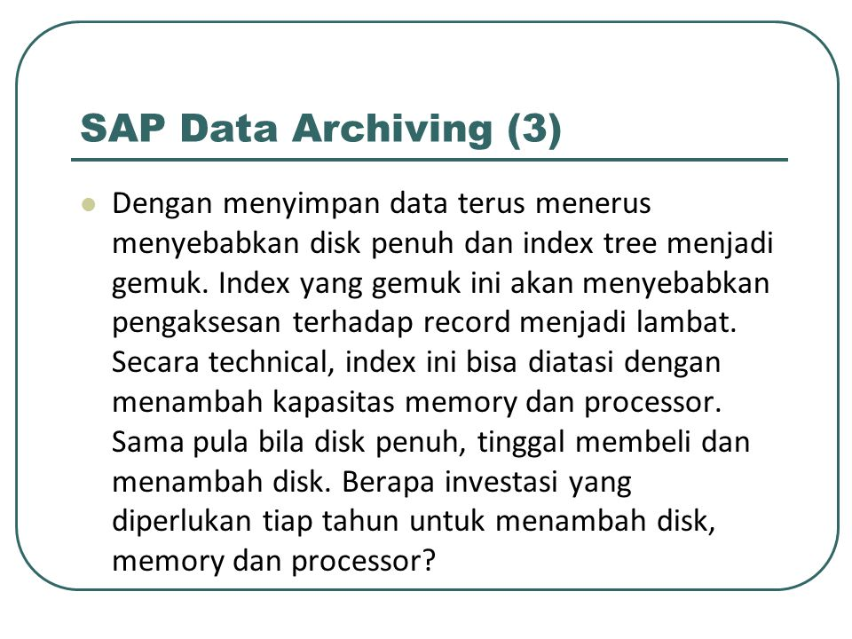 SAP Data Archiving (3)