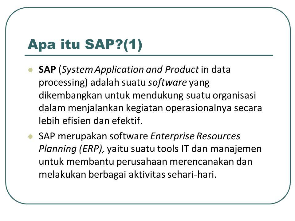 Apa itu SAP (1)