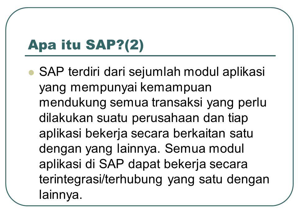 Apa itu SAP (2)