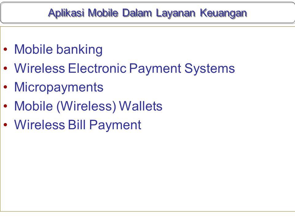 Aplikasi Mobile Dalam Layanan Keuangan