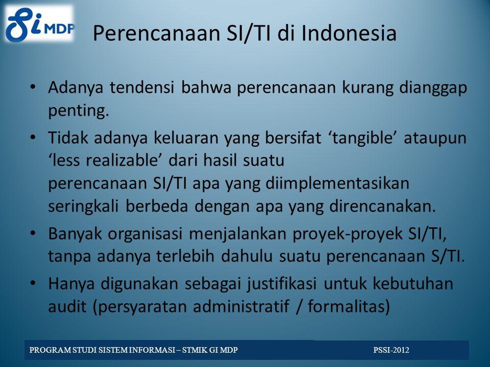 Perencanaan SI/TI di Indonesia