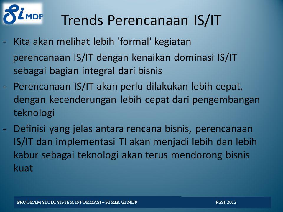 Trends Perencanaan IS/IT