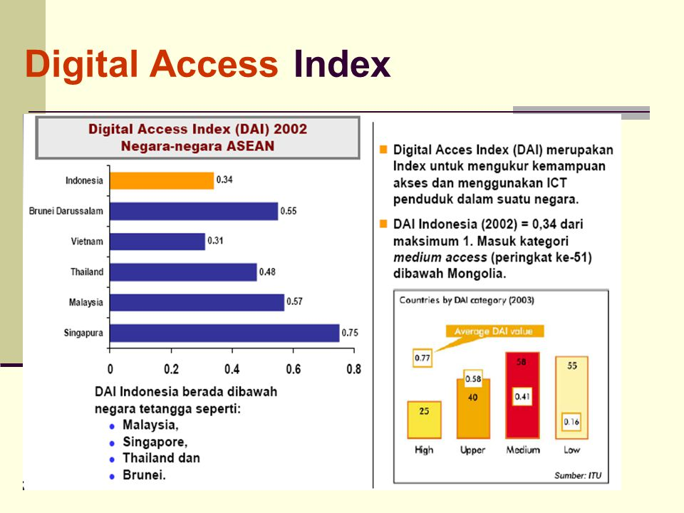 Digital Access Index