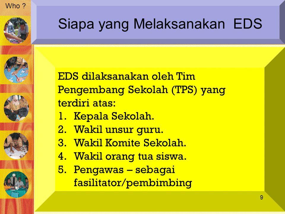 Siapa yang Melaksanakan EDS