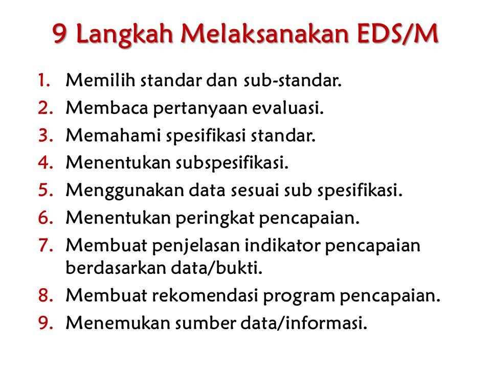 9 Langkah Melaksanakan EDS/M
