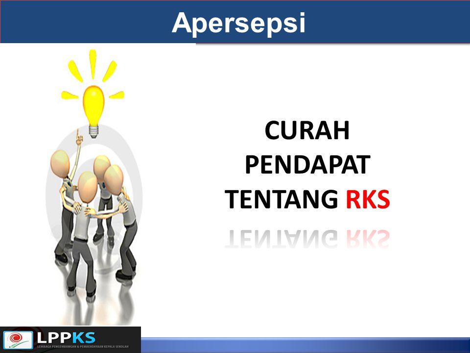 CURAH PENDAPAT TENTANG RKS