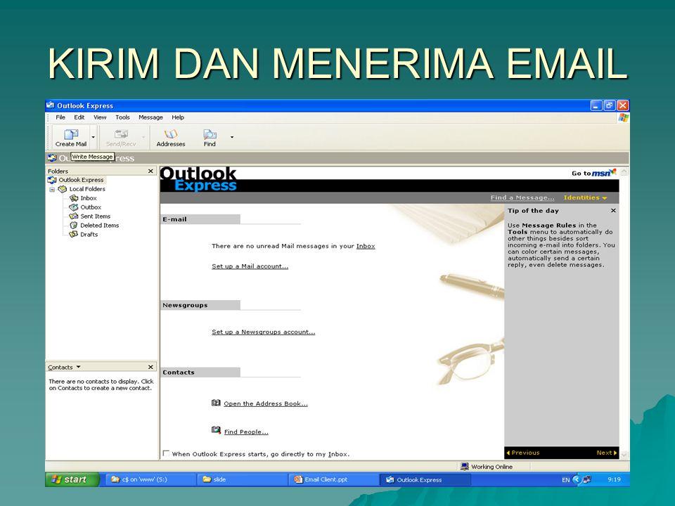 KIRIM DAN MENERIMA EMAIL