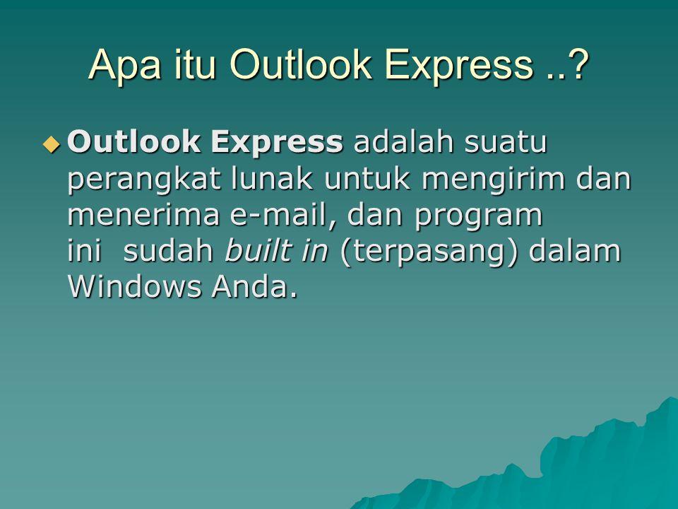 Apa itu Outlook Express ..