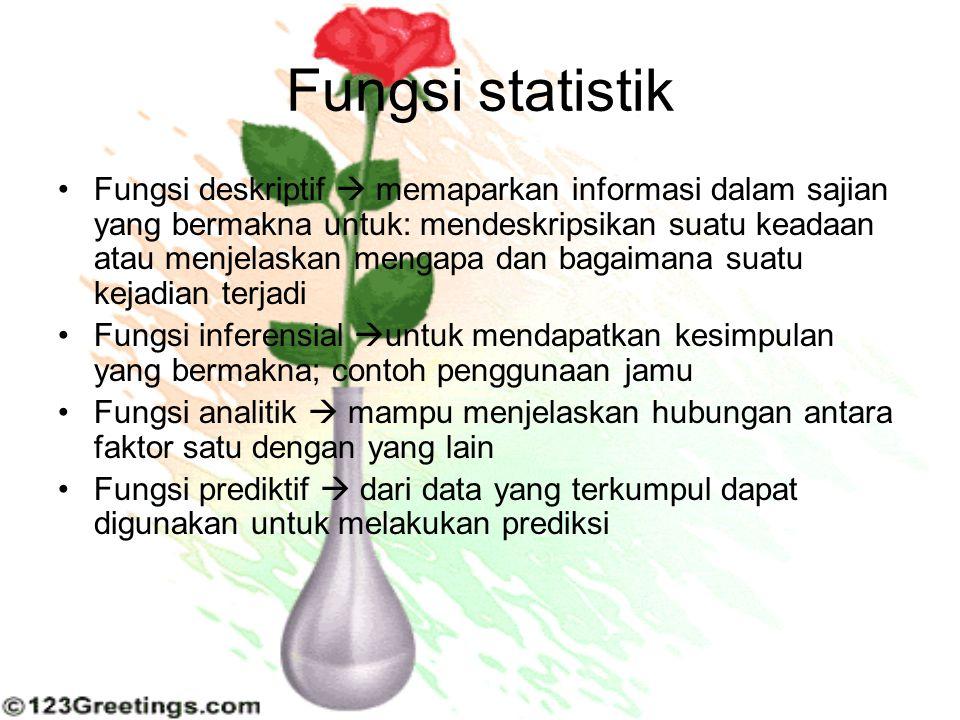 Fungsi statistik