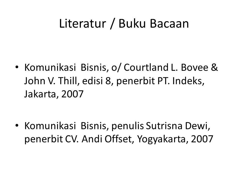 Literatur / Buku Bacaan