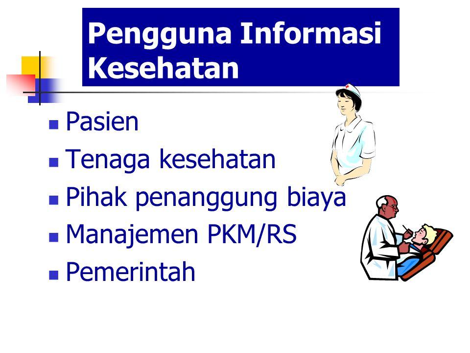 Pengguna Informasi Kesehatan