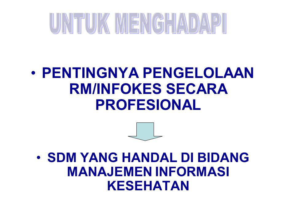 PENTINGNYA PENGELOLAAN RM/INFOKES SECARA PROFESIONAL
