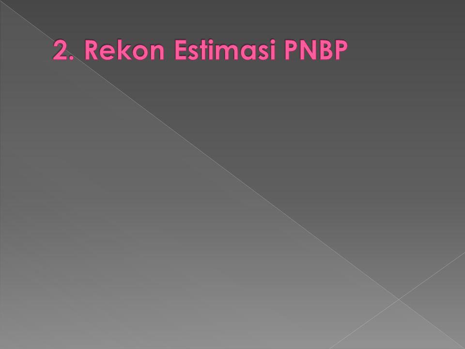 2. Rekon Estimasi PNBP