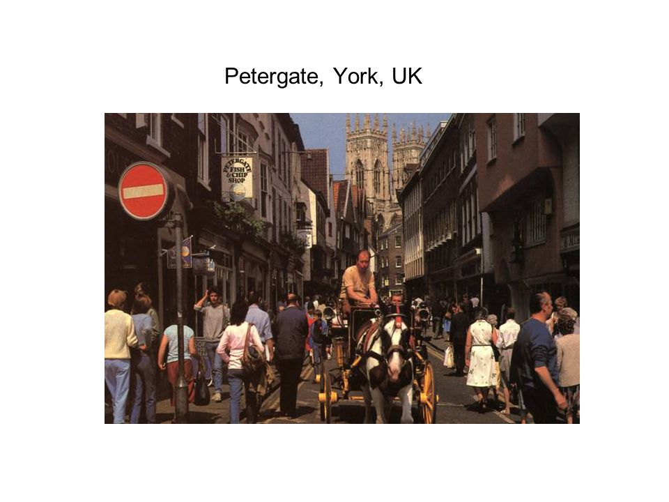 Petergate, York, UK