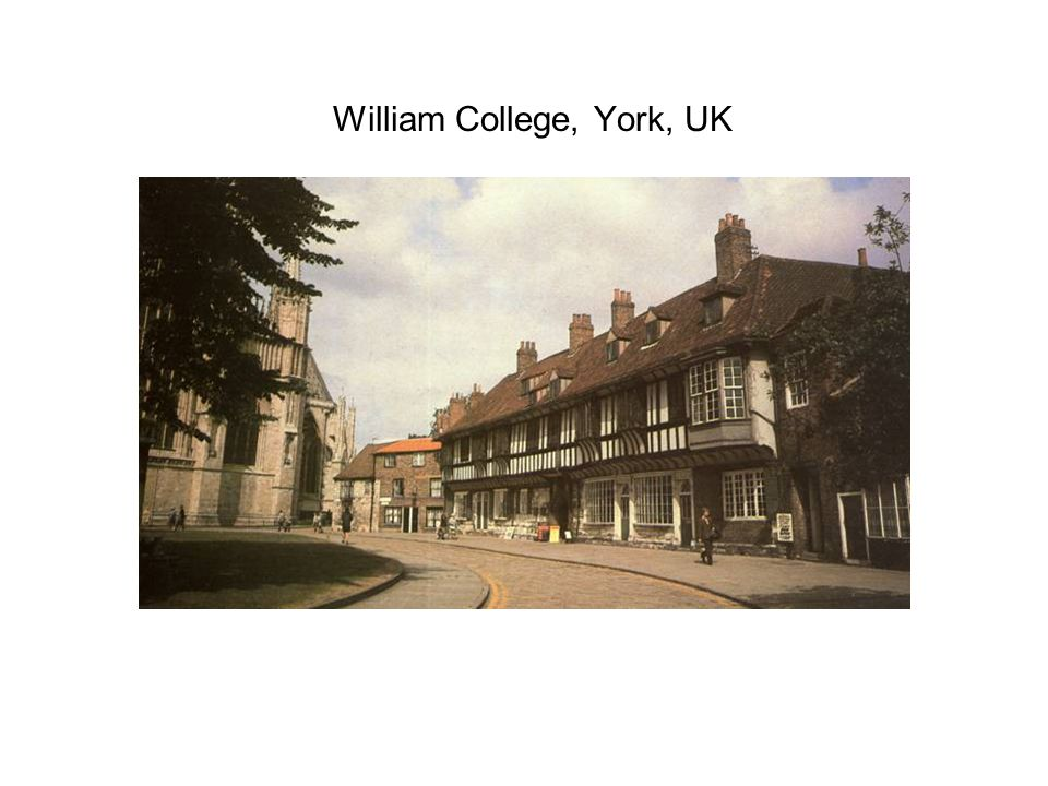 William College, York, UK