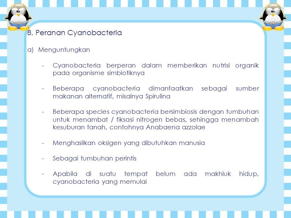 8. Peranan Cyanobacteria