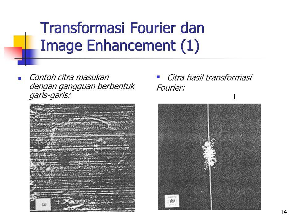 Transformasi Fourier dan Image Enhancement (1)