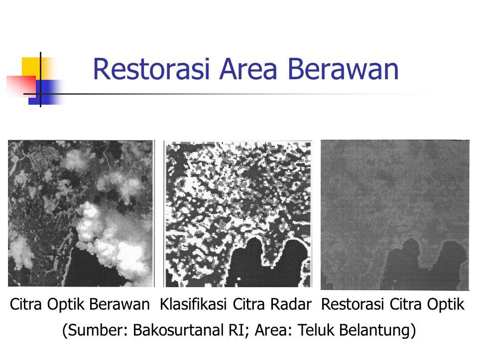 Restorasi Area Berawan
