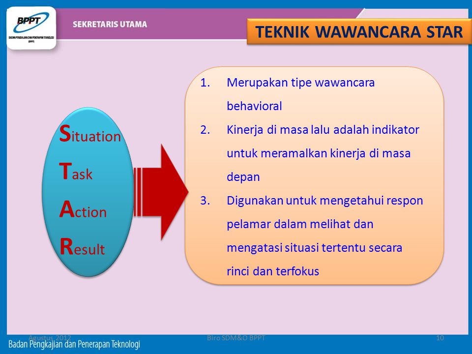 Situation Task Action Result