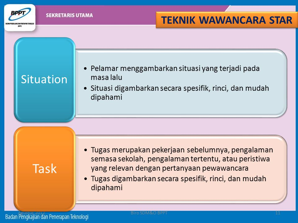 Task TEKNIK WAWANCARA STAR