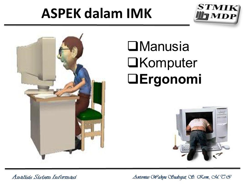 ASPEK dalam IMK Manusia Komputer Ergonomi