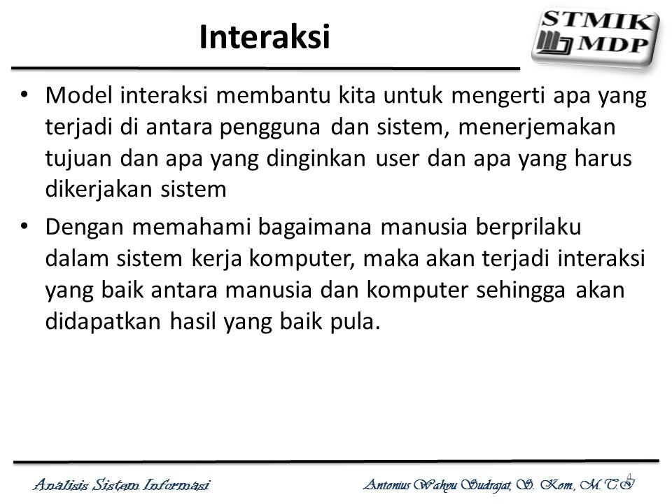 Interaksi