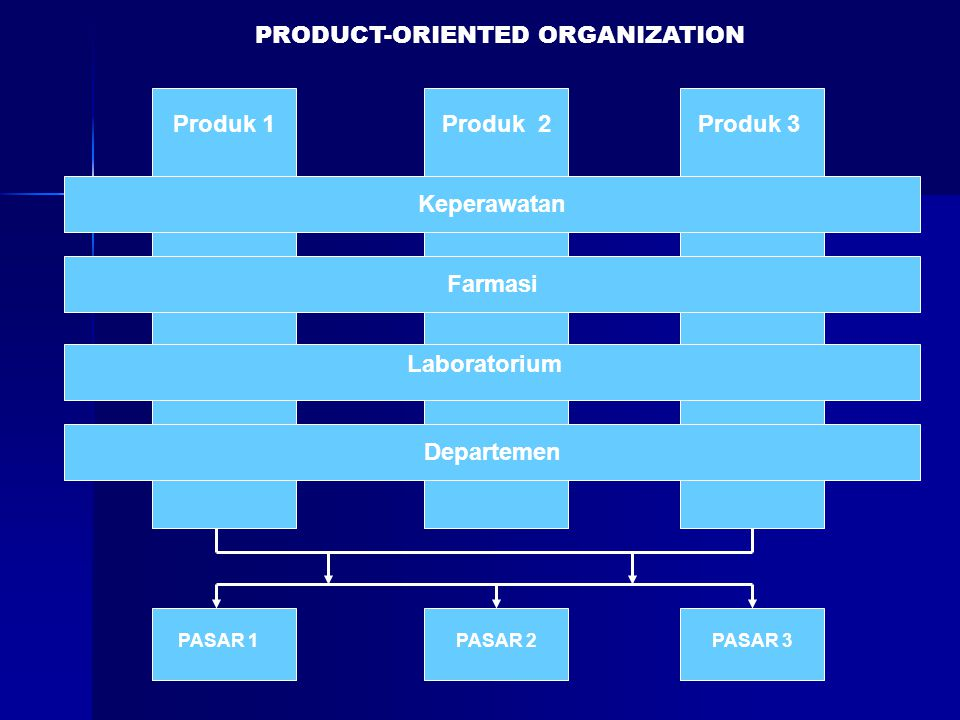 PRODUCT-ORIENTED ORGANIZATION