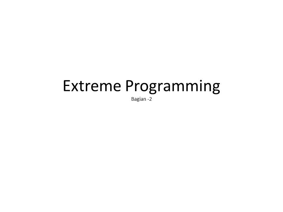 Extreme Programming Bagian -2