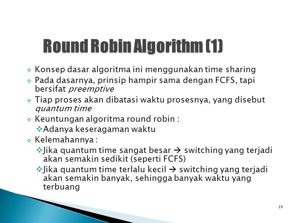 Round Robin Algorithm (1)