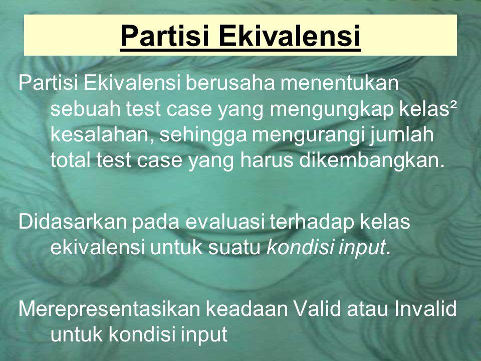 Partisi Ekivalensi