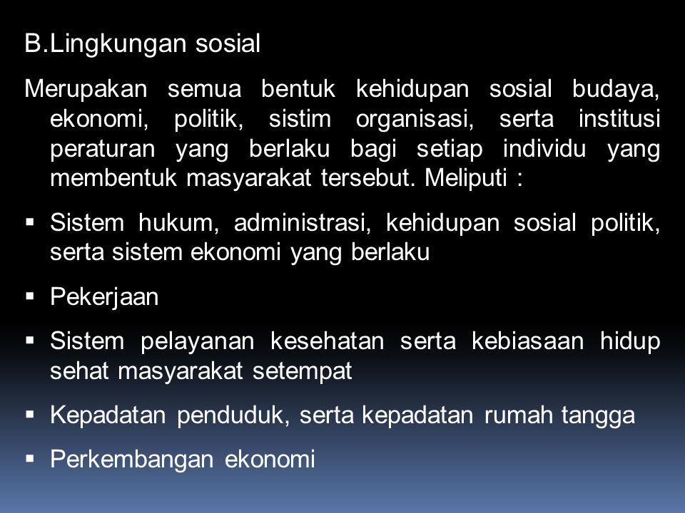 Lingkungan sosial