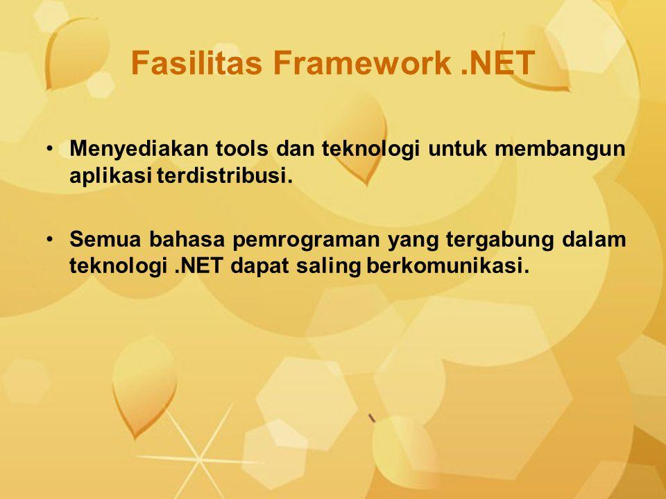 Fasilitas Framework .NET