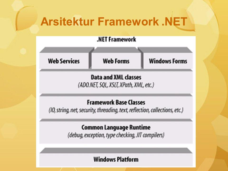 Arsitektur Framework .NET