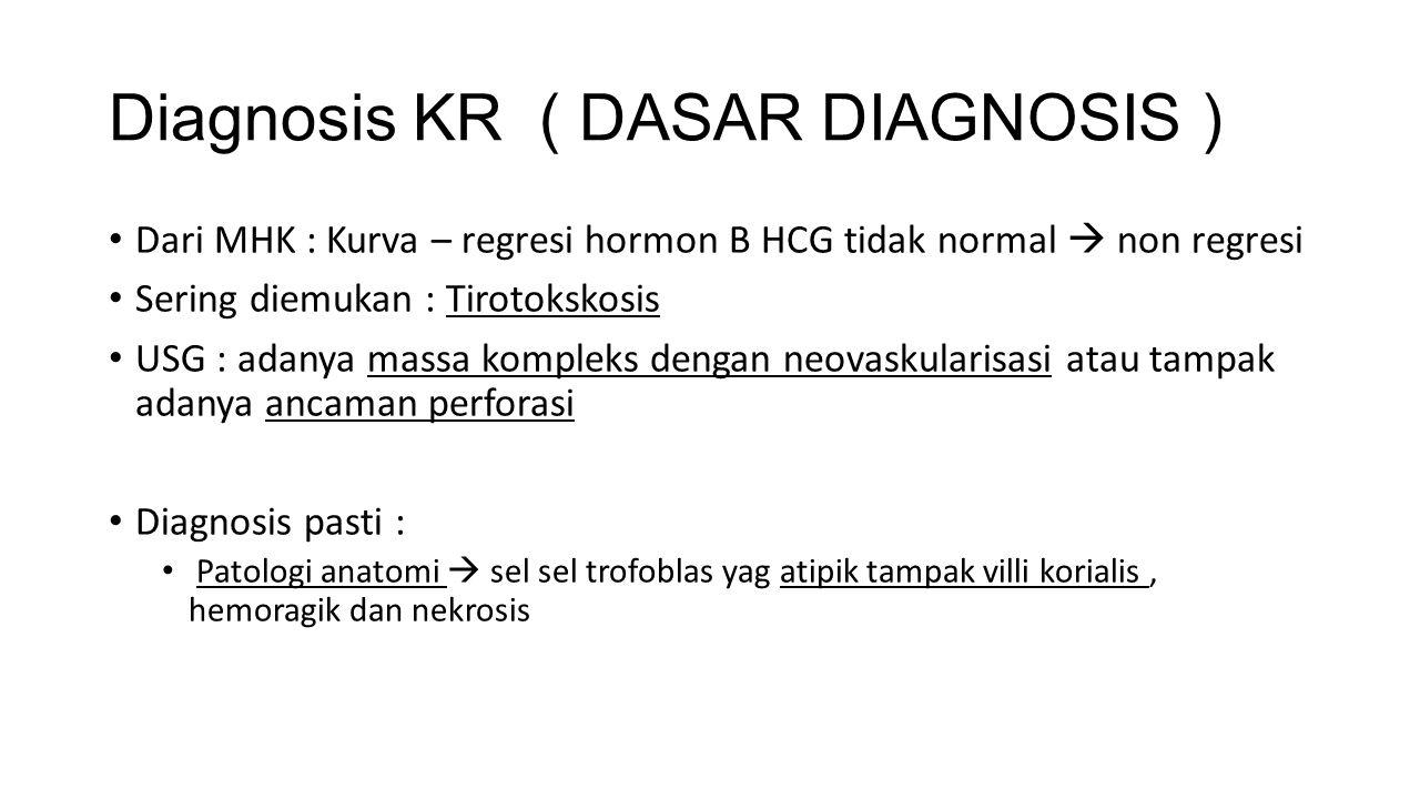 Diagnosis KR ( DASAR DIAGNOSIS )
