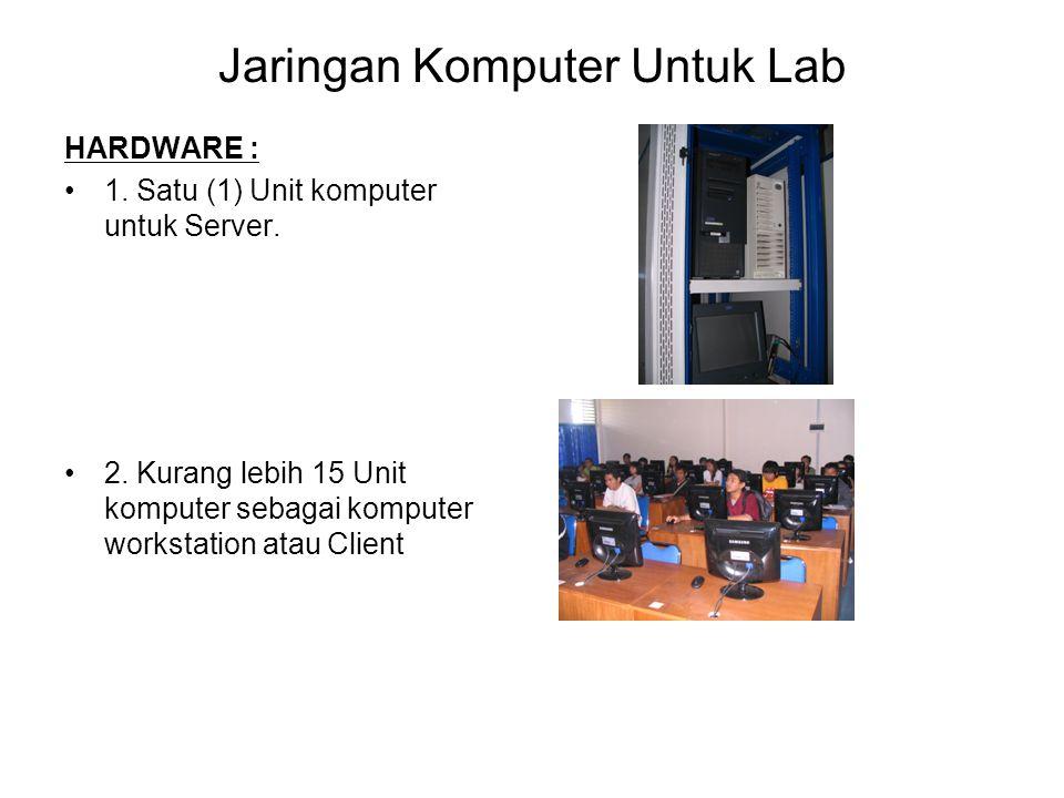 Jaringan Komputer Untuk Lab