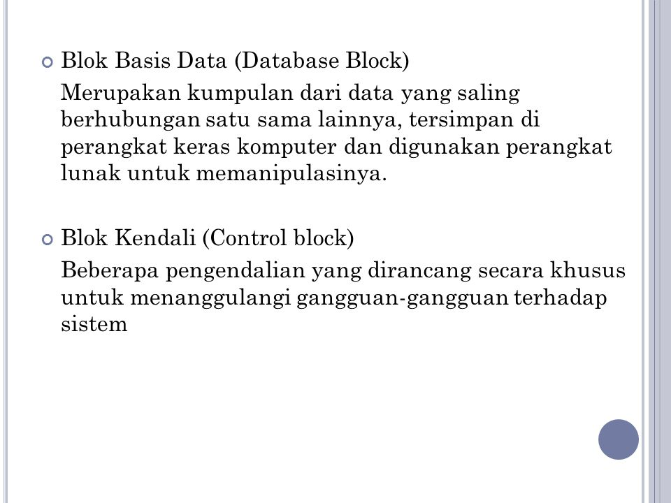 Blok Basis Data (Database Block)