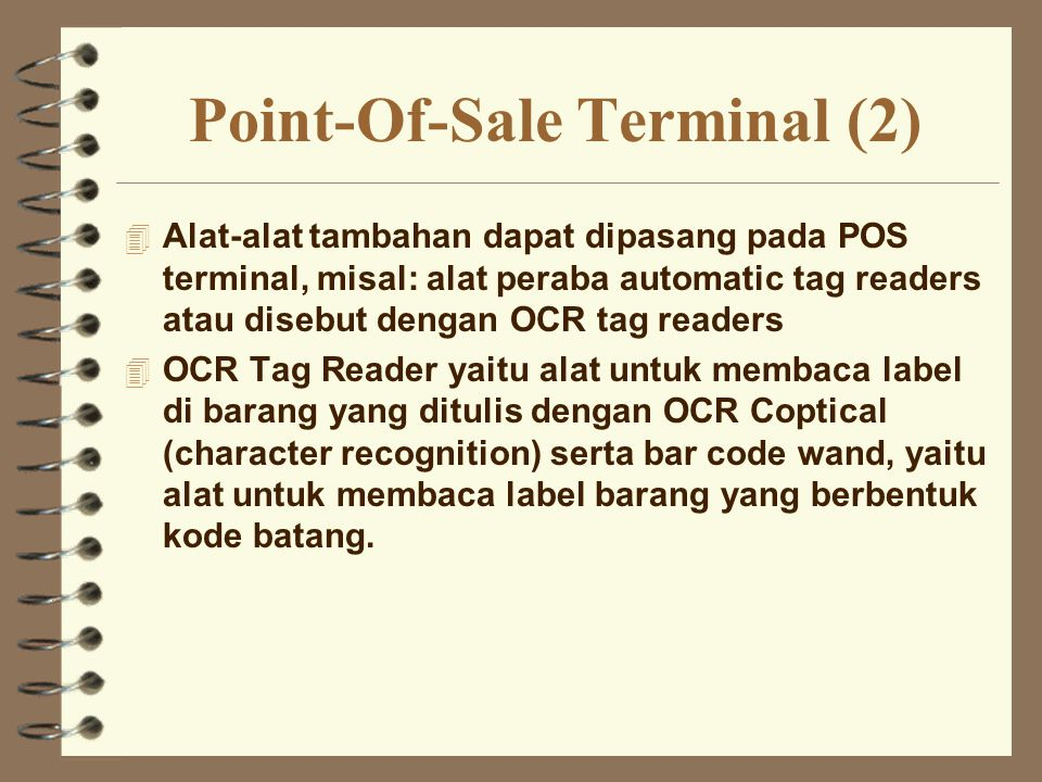Point-Of-Sale Terminal (2)