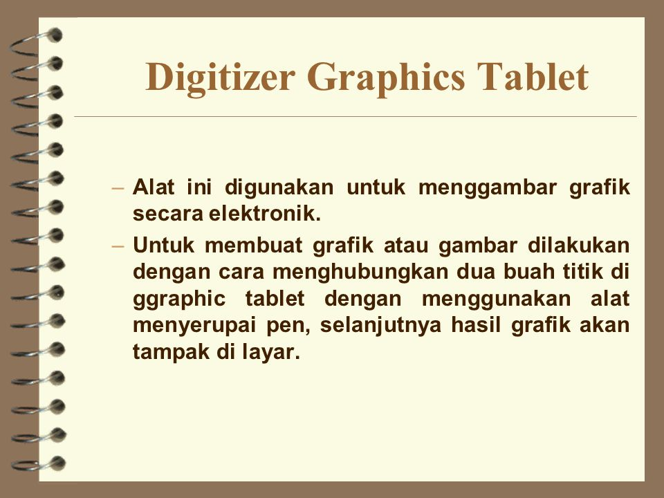 Digitizer Graphics Tablet