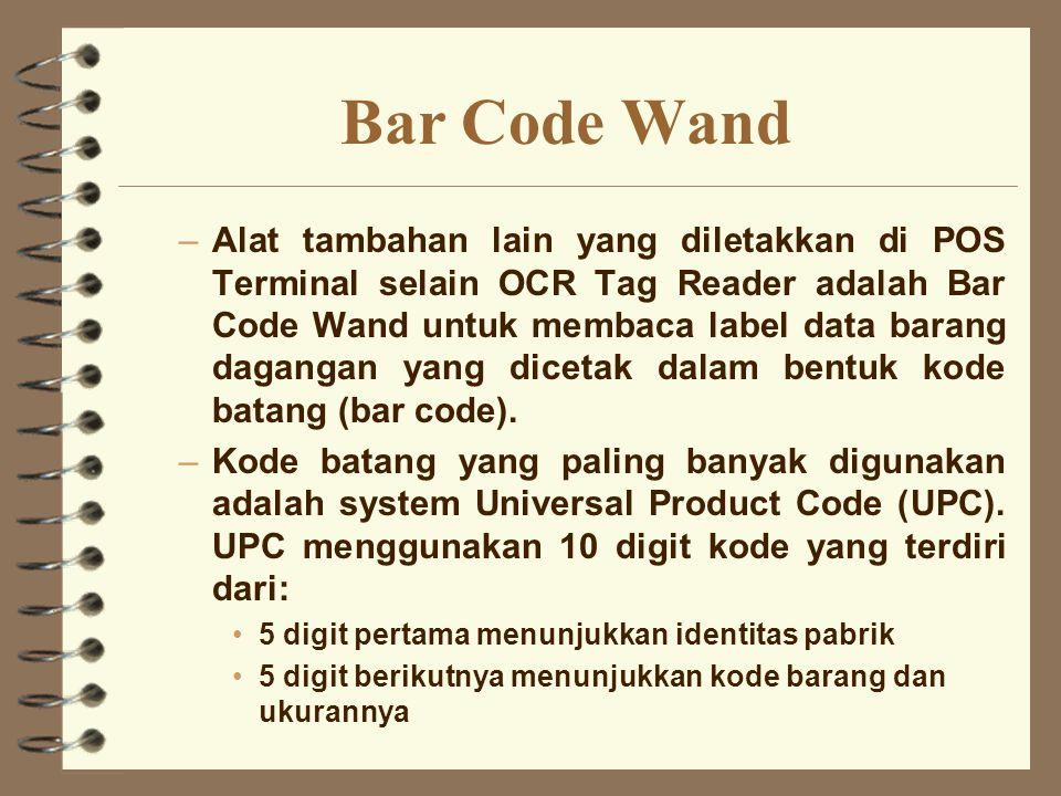 Bar Code Wand