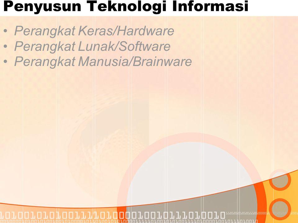Penyusun Teknologi Informasi