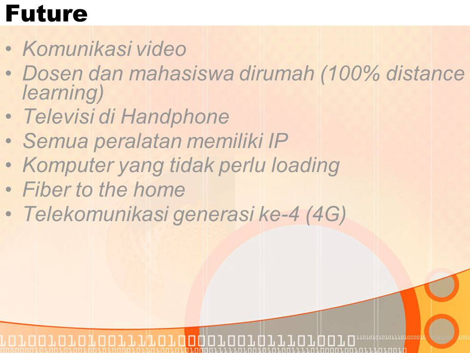Future Komunikasi video