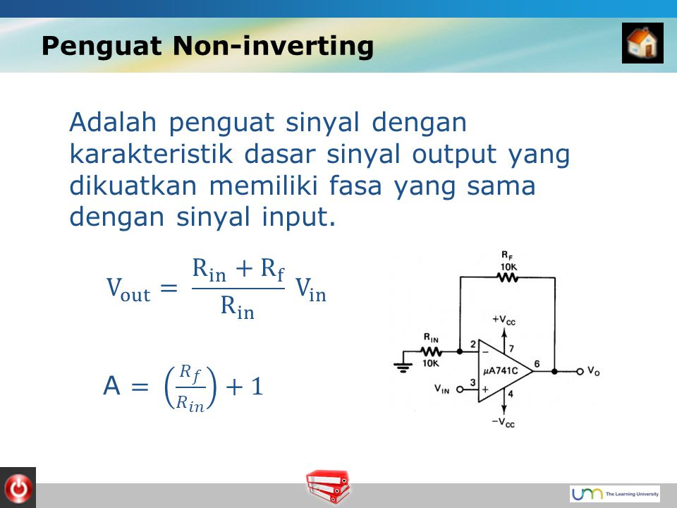 Penguat Non-inverting