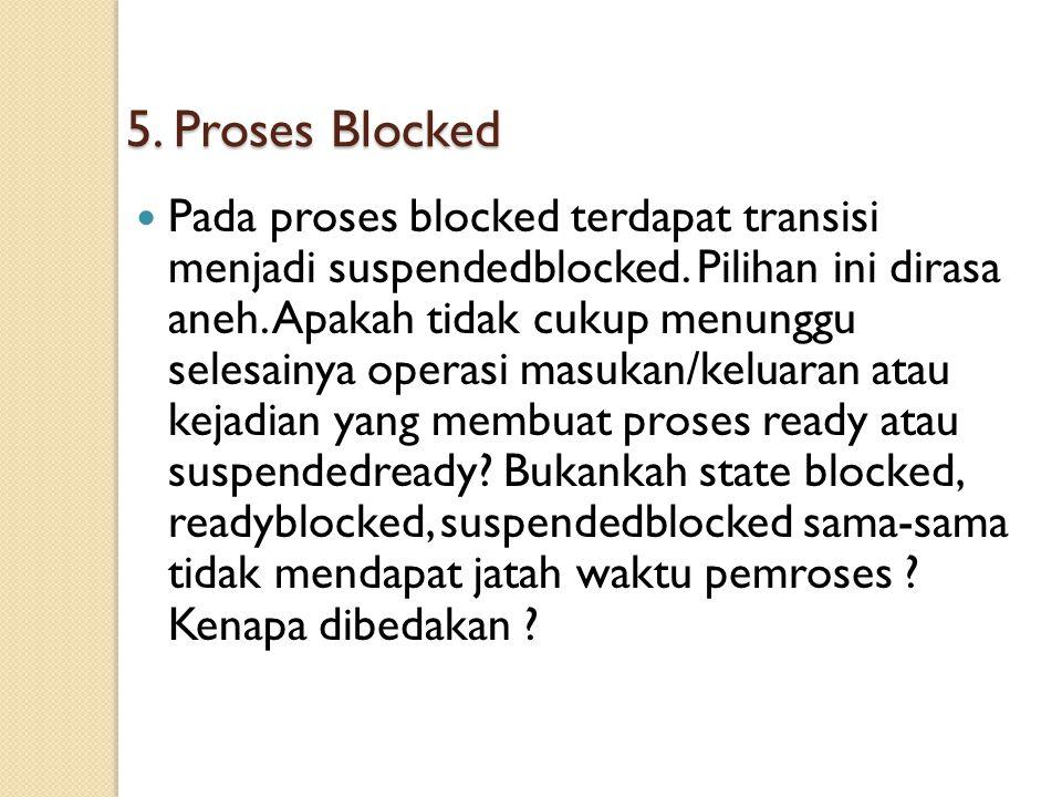 5. Proses Blocked